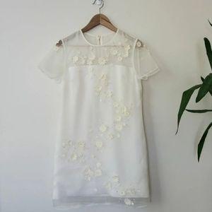 Ted Baker London • Silk Appliqué Dress